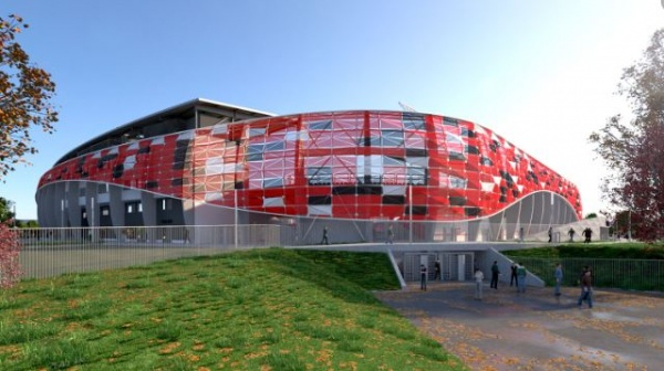 Bozsik Stadion Homlokzati Díszelemek gyártása